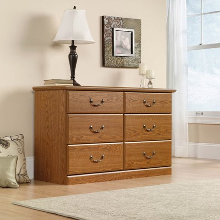 Sauder Orchard Hills Dresser, Carolina Oak Finish