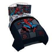 Marvel Spiderman Jump Kick Reversible Twin Comforter