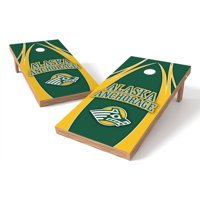 Wild Sports Collegiate Youngstown State U Shield 2x4 V Logo Tailgate Toss XL Game