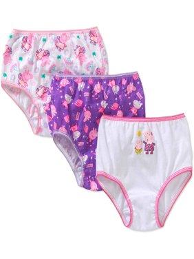 Peppa Pig Toddler Girls' Underwear, 3-Pack