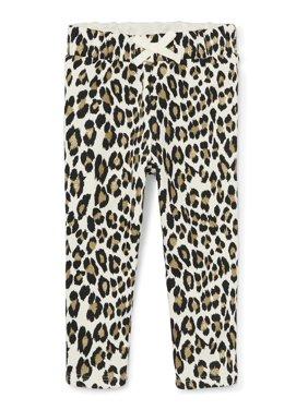 Tapered Glitter Sweatpants (Toddler Girls)