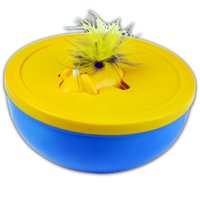 OurPets Disappearing Feather Interactive Cat Toy