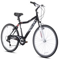 "Kent 26"" Men's, Avalon Comfort Bike with Full Suspension, Black"