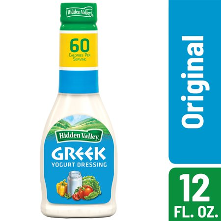 Hidden Valley Greek Yogurt Original Ranch Salad Dressing Topping