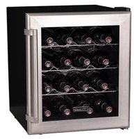 "Koldfront TWR160 17"" Wide 16 Bottle Wine Cooler with Thermoelectric Cooling"