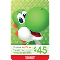 eCash - Nintendo eShop Gift Card $45 (Email Delivery)