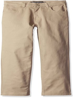 Boys Uniform Stretch Twill 5 Pocket Straight Leg Pant