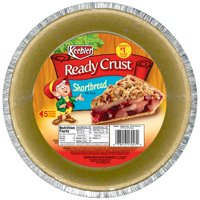 (3 Pack) Keebler Ready Crust 9 Inch Shortbread Pie Crust 6 oz. Tin