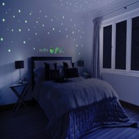 Glow in the Dark Planets and Stars for Kids Self Adhesive Glowing Star and Planet Decal for Children's Bedrooms Glow In The Dark Constellation Ceiling and Wall Stickers 122 3D Glowing Stickers