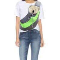 Pet Dog Cat Puppy Carrier Comfort Travel Tote Shoulder Bag, S Size, Green