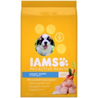 IAMS PROACTIVE HEALTH Smart Puppy Large Breed Dry Dog Food Chicken, 15 lb. Bag