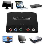 HDMI to RGB Component (YPbPr) Video +R/L Audio Adapter TV HD Video Converter