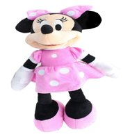 Disney Mickey Mouse Clubhouse Minnie Mouse Plush - Pink Polka Dot Dress