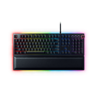 Razer Huntsman Elite - Premium Gaming Keyboard with Razer Opto-Mechanical Switches and Multi-function Digital Dial