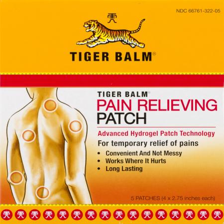 Pain Patch (Tiger Balm Tiger Balm Patch 5)