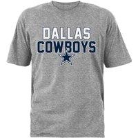 Men's Gray Dallas Cowboys Razor T-Shirt