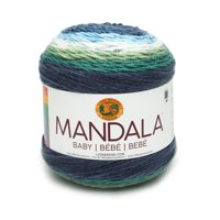 Lion Brand Yarn 526-205 Mandala Baby Echo Caves Baby Yarn