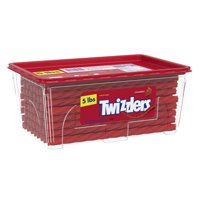 TWIZZLERS Strawberry Twists, 5 Pounds