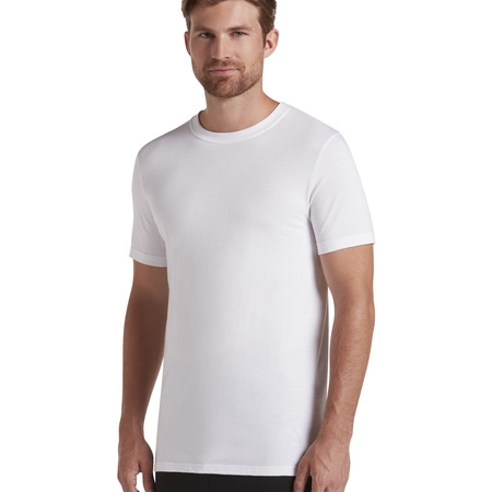 Men's 24/7 Comfort Cotton T-Shirt - 3 pack (Jockey Mens Staycool Crew Neck T Shirts)