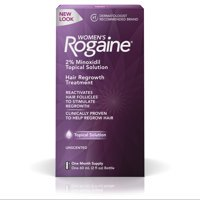 Women's Rogaine 2% Minoxidil Topical Solution, 1-Month Supply