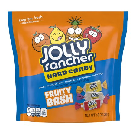 Jolly Rancher, Fruity Bash Assortment Hard Candy, 13 Oz.