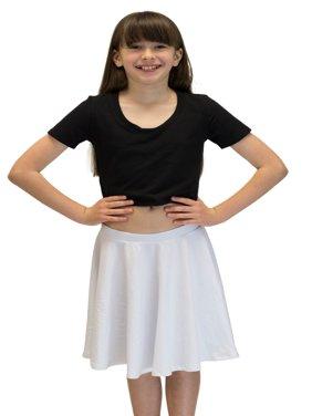 Vivian's Fashions Skirts - Girls, Cotton, Long, Circle (Royal Blue, X-Small)
