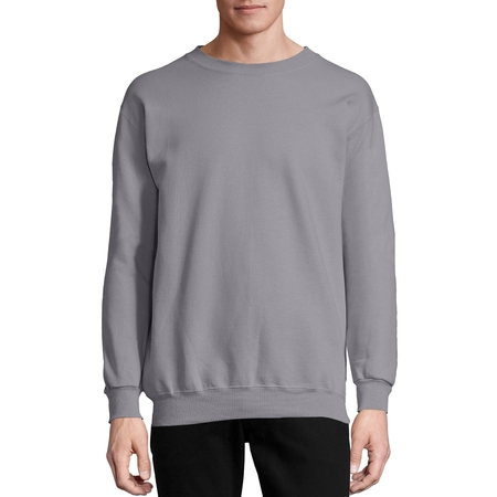 Hanes Ultimate Cotton Crewneck Sweatshirt - Men's Ultimate Cotton Heavyweight Fleece Sweatshirt
