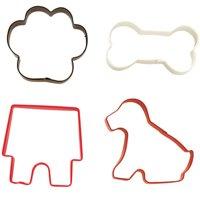 Wilton Pet Cookie Cutter Set, 4-piece