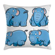 bc81643057bc Animal Throw Pillow Cushion Cover