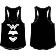 7175df63b9b31 Dawn of Justice Wonder Woman Batman Superman Logo Womens Tank Top