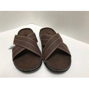 new arrival 6963d 66652 Air Balance Men s Day Slide On Coffee Sandal Shoes Size 8-13, New With