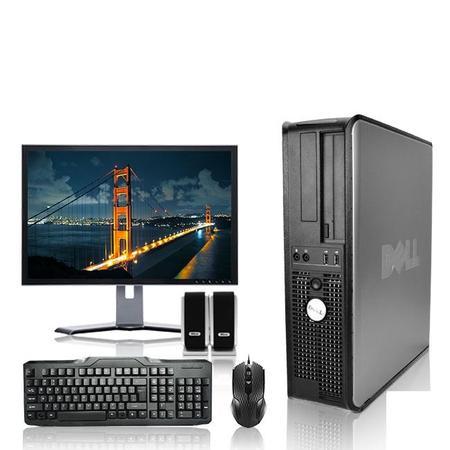 Kit 500 Gb Backup (Dell Optiplex Desktop Computer 3.3 GHz Core 2 Duo Tower PC, 6GB RAM, 500 GB HDD, Windows)