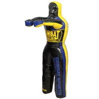 Combat Sports Youth Grappling Dummies Black, Yellow, Blue