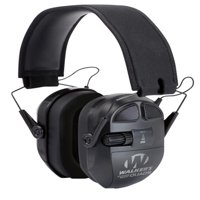 WALKERS GAME EAR ULTIMATE SERIES POWER MUFF QUADS BLACK EARMUFF 27 DB