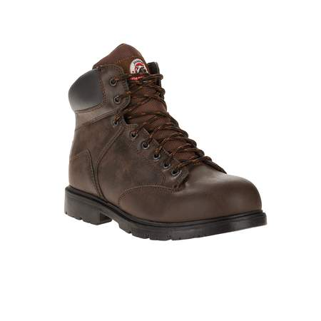 Brahma Men's Raid Steel Toe Work (Side Zip Steel Toe Boots)