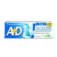 A+D Zinc Oxide Diaper Rash Cream (Pack of 2)