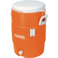 Deals on Igloo 5-Gallon Heavy-Duty Beverage Cooler Orange