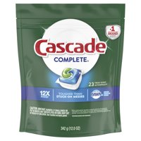 Cascade Complete ActionPacs, Dishwasher Detergent, Fresh Scent, 23 count
