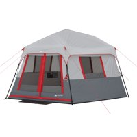 Ozark Trail 8-Person Instant Hexagon Tent with LED Lights