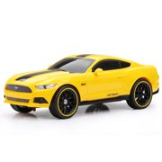 New Bright 1:16 Scale RC Chargers Radio Control Toy Car Mustang GT - Yellow