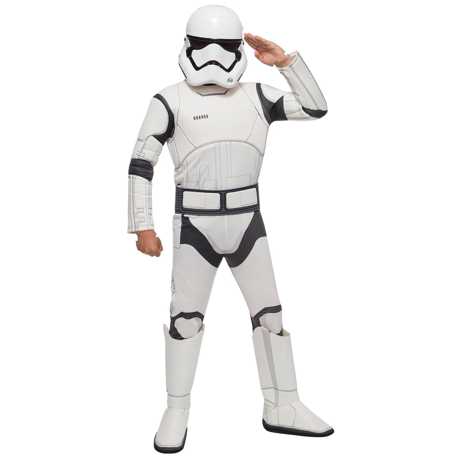 Marvelous Star Wars: The Force Awakens   Stormtrooper Deluxe Child Costume