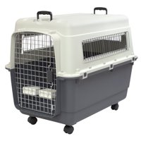 Kennels Direct Premium Plastic Dog Kennel and Travel Crate, XL