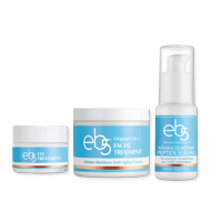 ($58 Value) eb5 Cold Weather Dry Skin Kit, Serum, Face Moisturizer, and Eye Cream