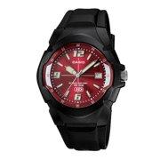 Men's 10-Year Battery Sport Watch, Black Resin Strap