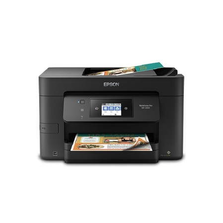 Epson WorkForce Pro WF-3720 Wireless All-in-One Color Inkjet Printer, Copier, Scanner with Wi-Fi Direct ()