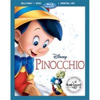 Pinocchio (The Walt Disney Signature Collection) (Blu-ray + DVD + Digital HD)