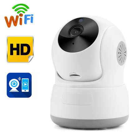 Covert Cctv Cameras - AGPtek Security Camera Network Indoor CCTV Night Vision HD Wireless Pan&Tilt WIFI IP Camera