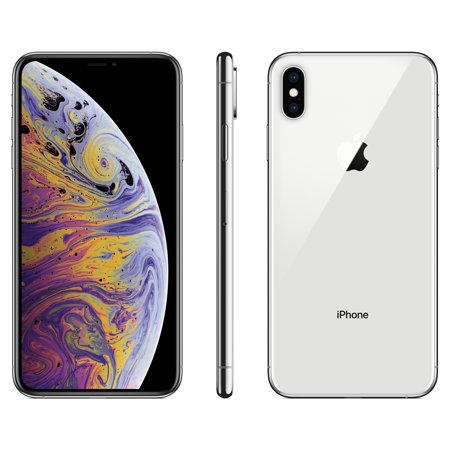 Walmart Family Mobile Apple iPhone XS MAX w/64GB, Silver](iphone 4s cheapest price)