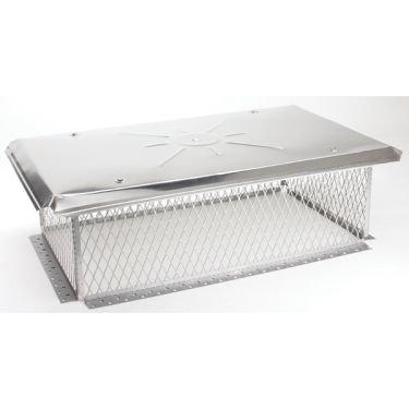 Gelco 3/4 inch mesh Chimney Cap 8H x 20W x36L