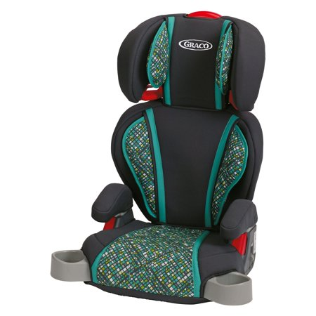 Black Child Seat (Graco High Back TurboBooster High Back Booster Car Seat, Mosaic )
